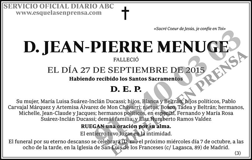 Jean-Pierre Menuge